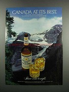 1983 Canadian Mist Whisky Ad