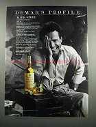 1983 Dewar's White Label Scotch Ad - Mark Story