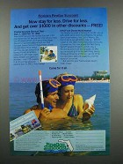 1983 Florida Pinellas Suncoast Ad - Stay for Less