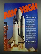 1983 U.S. Air Force Ad - Aim High Now For the Future