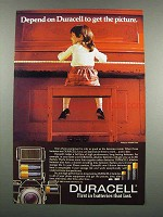 1983 Duracell Batteries Ad - Get The Picture