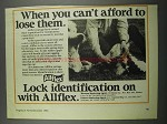 1983 Allflex Eartags Ad - Can't Afford to Lose Them