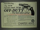1983 Charter Arms Off-Duty Revolver Ad