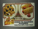 1983 Nabisco Shredded Wheat Ad - No Added Sugar