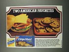 1983 Nabisco Chips Ahoy! & Kraft Cheese Slices Ad