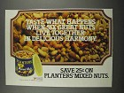 1983 Planters Mixed Nuts Ad - Taste What Happens