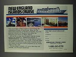 1983 American Cruise Lines Ad - New England Islands