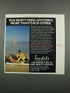 1983 Sandals Montego Bay, Jamaica Ad - You Won't Need