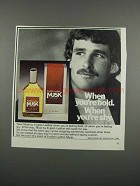 1983 English Leather Musk Cologne Ad - When You're Bold