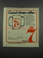 1983 Seagram's 7 Crown Whisky Ad - Good Times