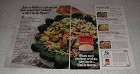 1983 Uncle Ben's Converted Rice Ad - Summer Salads