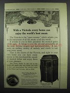 1914 Victor Victrola XVI Ad - Every Home Can Enjoy