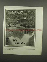 1920 The Homestead Resort Ad - The Cascades