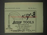 1924 Lufkin Rule Co. Ad - Tools Accurate