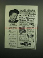 1950 Black & Decker Home-Utility Tools Ad - Tip From Anne Baxter