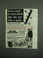 1951 Rowe Ro-Ho Gardener Ad - Every Tooth Digs