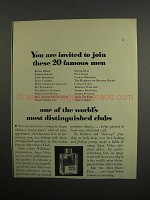 1952 Aqua Velva After Shave Ad - You Are Invited