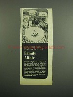 1953 Steubenville Family Affair Dinnerware Ad