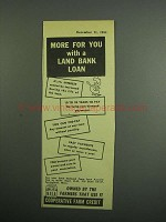 1954 Cooperative Farm Credit Ad - More For You