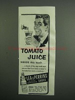 1954 Lea & Perrins Worcestershire Sauce Ad