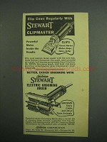 1954 Stewart Clipmaster and Electric Grooming Brush Ad