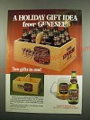1984 Genesee 12 Horse Ale Ad - A Holiday Gift Idea