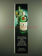 1984 Tanqueray Gin Ad - Why Go Around the World