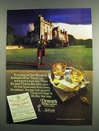 1984 Dewar's White Label Scotch Ad - Glen House