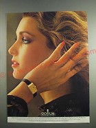 1984 Corum Watch Ad - An Investment in Time