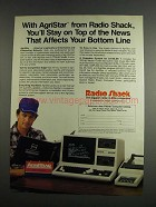 1984 Radio Shack TRS-80 Computer & AgriStar Network
