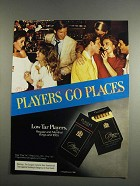 1984 Players Cigarettes Ad