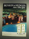 1984 Benson & Hedges Deluxe Ultra Lights Cigarettes Advertisement