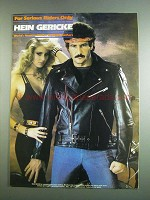 1984 Hein Gericke Riding Leathers Ad