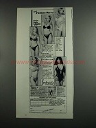1984 Frederick's of Hollywood Swim Suits Ad