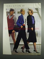 1984 JCPenney Halston III Fashion Ad - Head to Toe