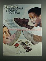 1984 Kinney Shoes Ad - School