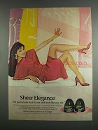 1984 L'eggs Sheer Elegance Pantyhose Ad