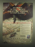 1984 Alaska Division of Tourism Ad - Free Advice