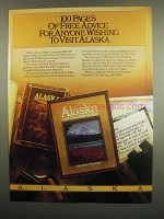 1984 Alaska Division of Tourism Ad - Wishing to Visit