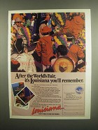 1984 Louisiana World Exposition Ad - After World's Fair