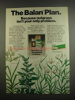 1984 Elanco Balan Ad - Nutgrass Isn't Your Only Problem