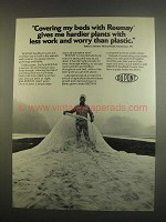 1984 Du Pont Reemay Seedbed covers Ad - Hardier