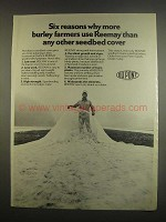 1984 Du Pont Reemay Seedbed covers Ad - Six Reasons