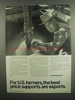 1984 Continental Grain Ad - Best Price Supports
