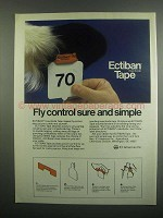 1984 ICI Americas Ectiban Insecticide Tape Ad