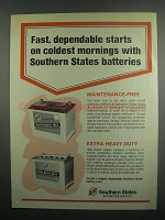 1984 Southern States Batteries Ad - Dependable Starts