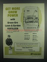 1984 Southern States Green-Gro Fertilizer Ad