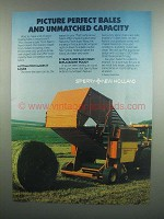 1984 Sperry New Holland Balers Ad - Picture Perfect