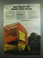 1984 Sperry New Holland 849 Baler Ad - Round Bale