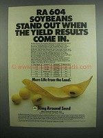 1984 Ring Around Products Inc. RA 604 Soybeans Ad